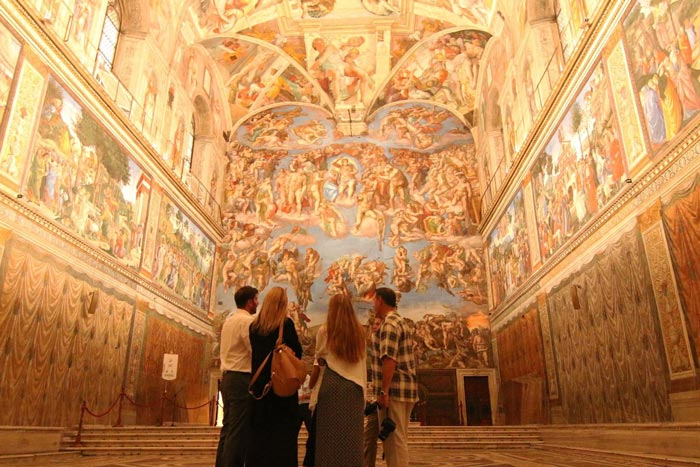 finelli shaw sistine chapel empty skip the line reservtion closed museum