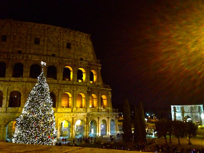 Colosseum Christmas Tree